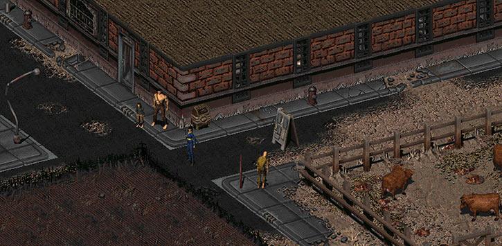 Fallout 2 - arrival in Klamath