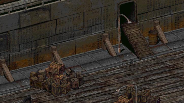 Fallout 2 - Tanker entrance