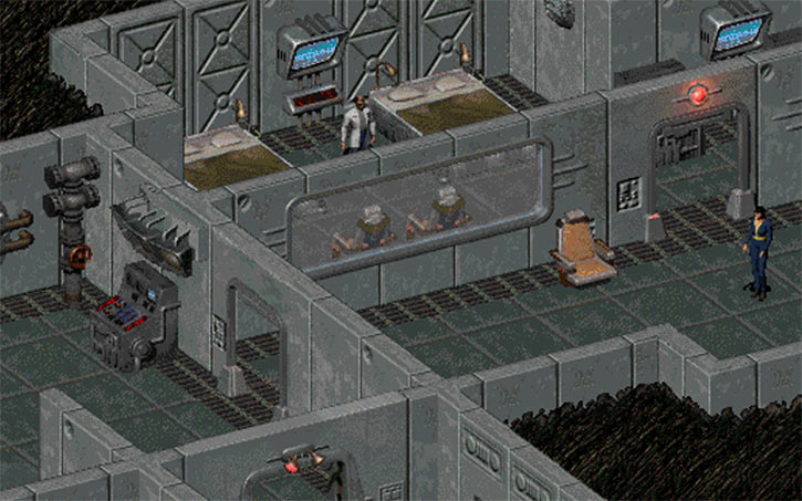 Fallout 2 - Vault 8 infirmary