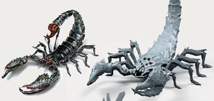 Radscorpion - Fallout 4 concept art and sculpt