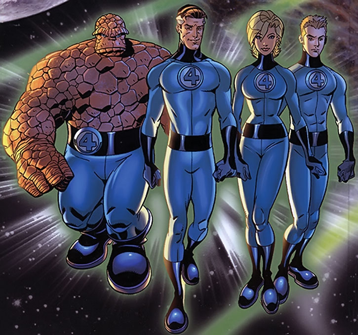 The Fantastic Four group shot