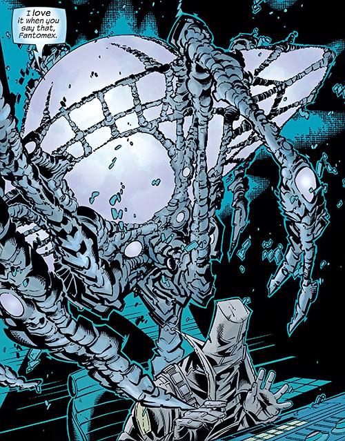 EVA (Fantomex ally) (Marvel Comics) in action