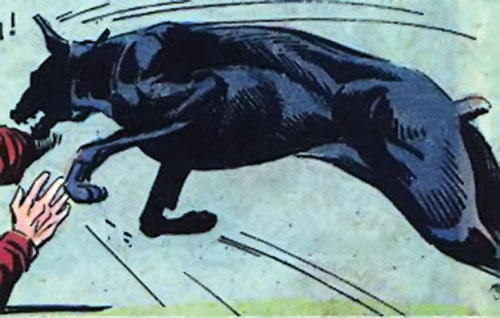 The Fearless French Paradog (Sarge Steel Charlton Comics)