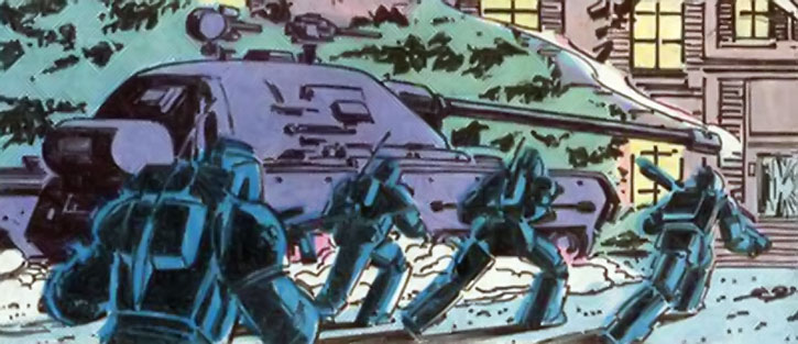 Fenris (Strucker twins) troops and tank