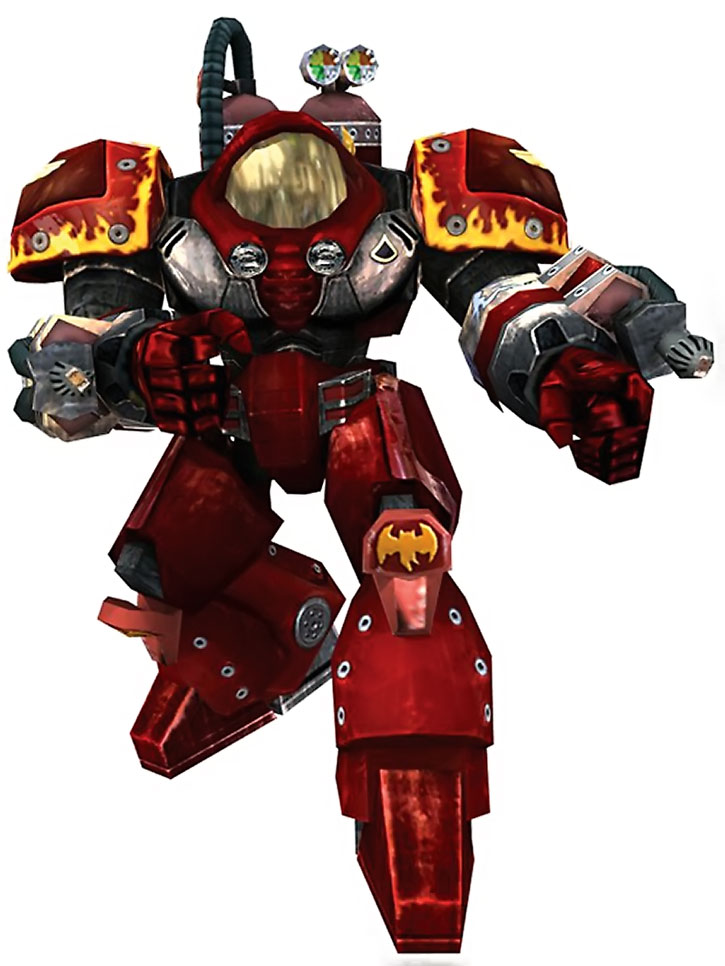 Firebat power armor