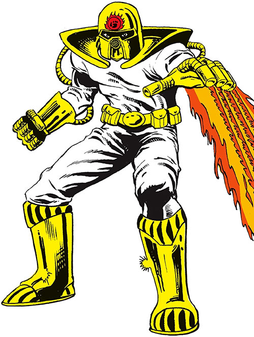 Firefist from DC Comics' Who's Who