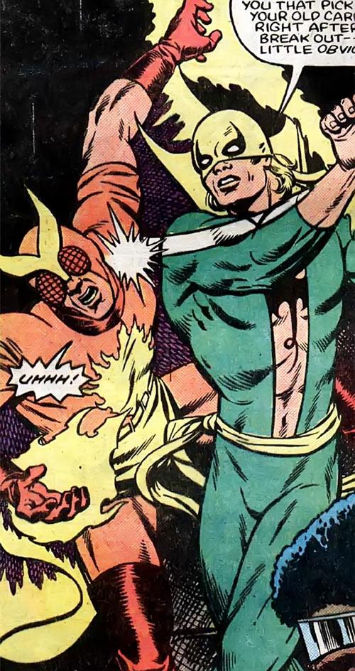 Firefly (Marvel Comics) vs. Iron Fist