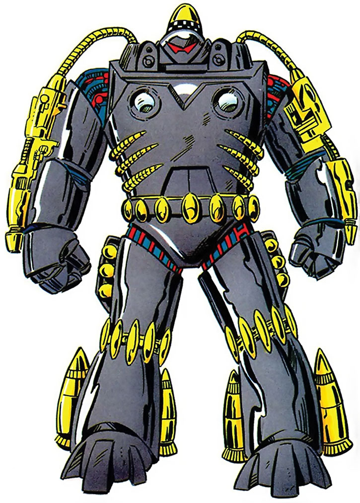 Firepower armor suit