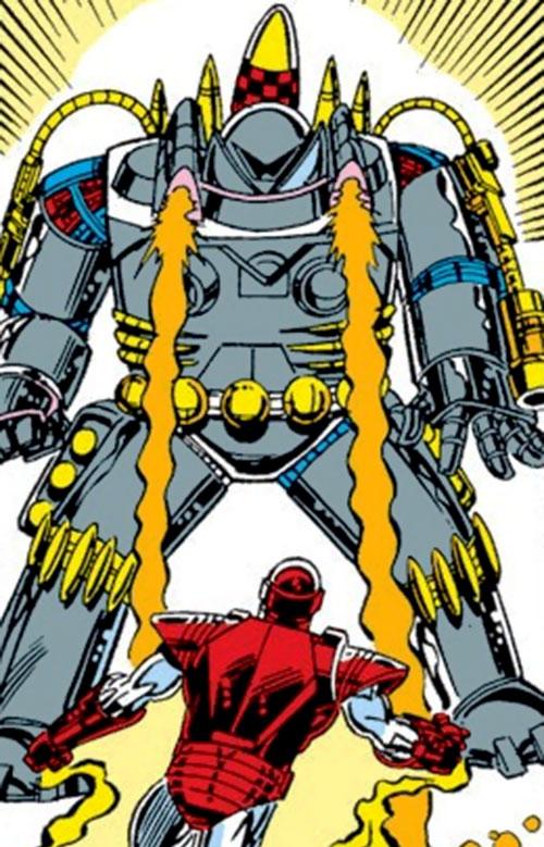 Firepower (Iron Man enemy) (Marvel Comics) vs. Iron Man