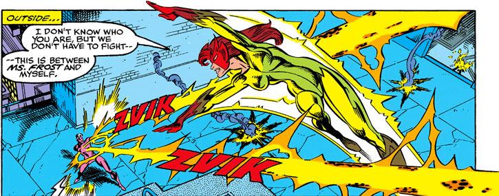 Firestar (Marvel Comics) (Avengers ; New Warriors) vs. Bevatron