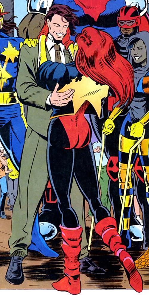 Firestar (Marvel Comics) (Avengers ; New Warriors) reunited with the team