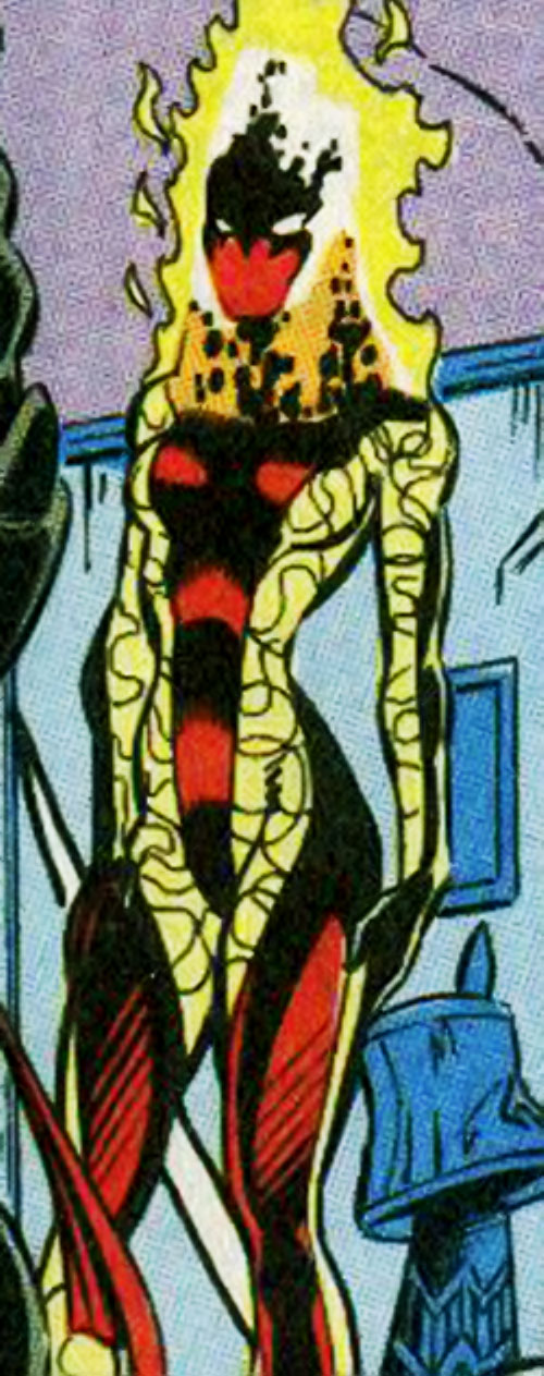 Silk Fever of the Folding Circle (New Warriors enemy) (Marvel Comics)
