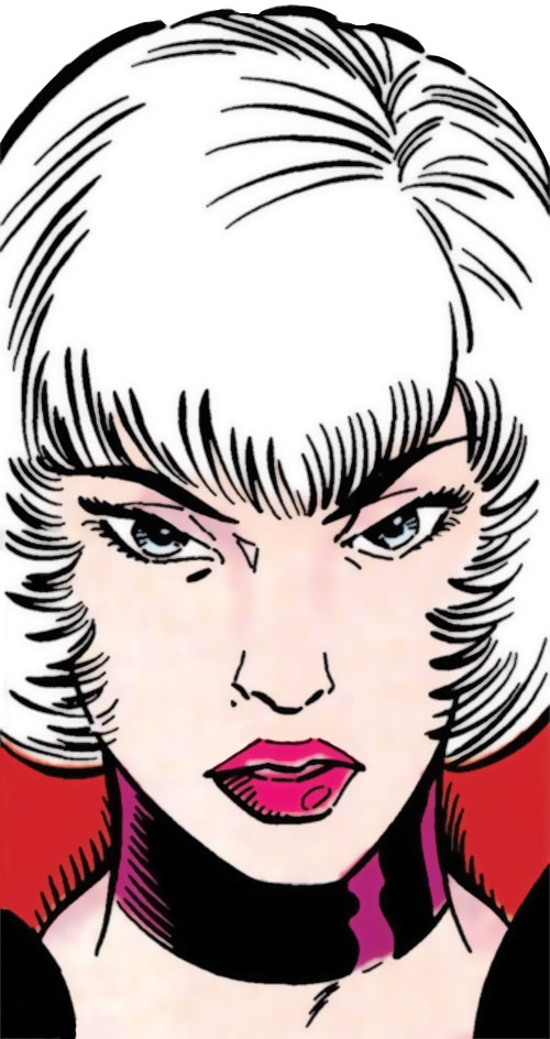 Fleur-de-Lys (DC Comics) face closeup