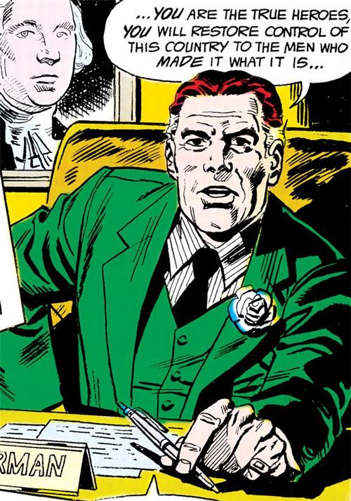 Force of July (DC Comics) (Outsiders enemies) - Eric Blairman