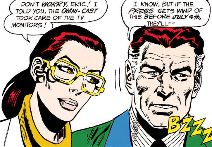 Force of July (DC Comics) (Outsiders enemies) - Eric and Laraine Blairman