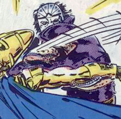 Freakout (Alpha Flight enemy) (Marvel Comics) attacking