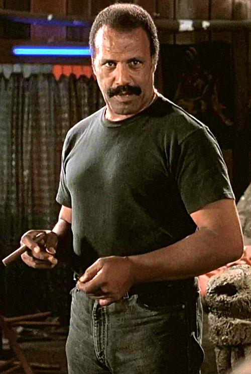 Frost the Vietnam veteran (Fred hammer Williamson in Dusk till Dawn)