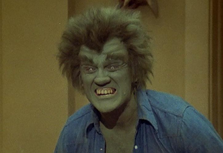 Dell's creature (Dick Durock)