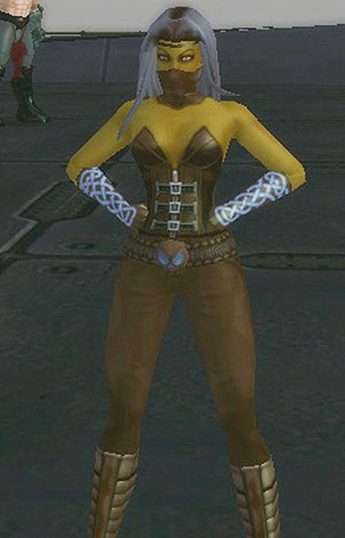 Furiah (City of Villains characters generator)