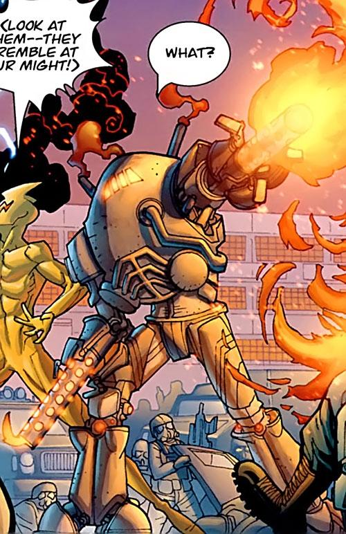 Furnace (Invincible Image Comics) rampaging