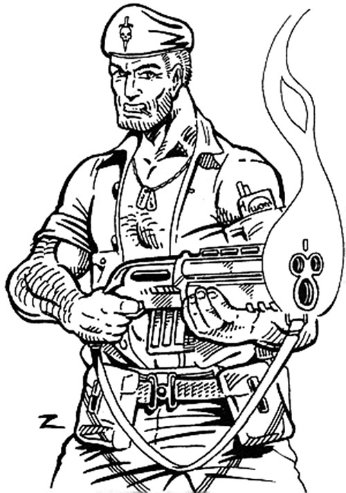 GI Jim (Villains & Vigilantes RPG)