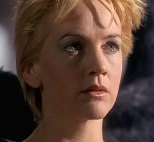 Gabrielle (Renee O'Connor in Xena) thinking