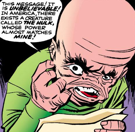 Gargoyle (Marvel Comics) (Yuri Topolov) face closeup