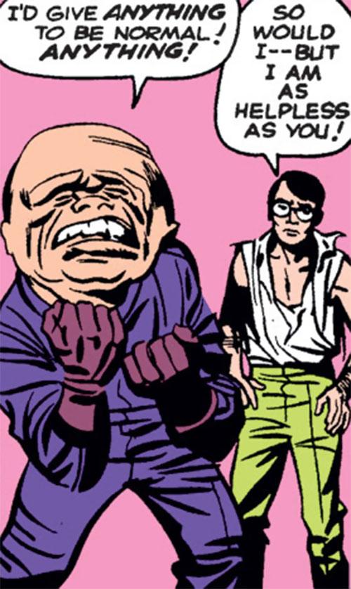 Gargoyle (Marvel Comics) (Yuri Topolov) and Bruce Banner