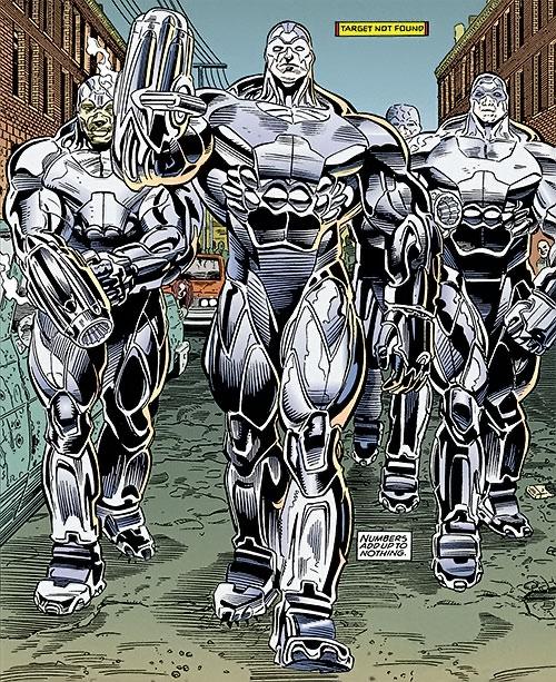 Cyborg SWAT team