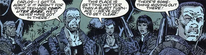 Gene Dogs - STORM - Marvel Comics UK - Omega Team