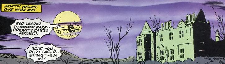 Gene Dogs - STORM - Marvel Comics UK - Base - castle ruins