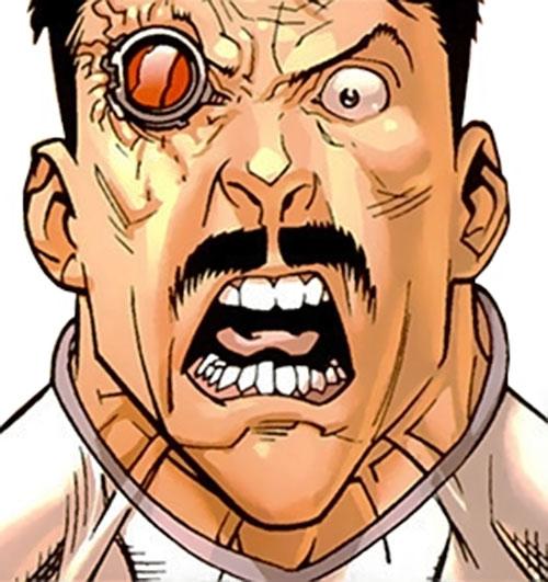 General Kregg (Invincible comics) yelling face closeup