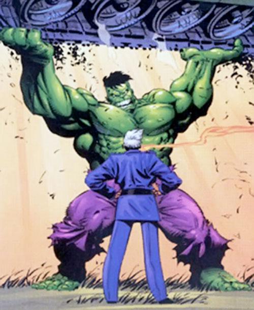 "General ""Thunderbolt"" Ross vs. the Hulk (Marvel Comics)"