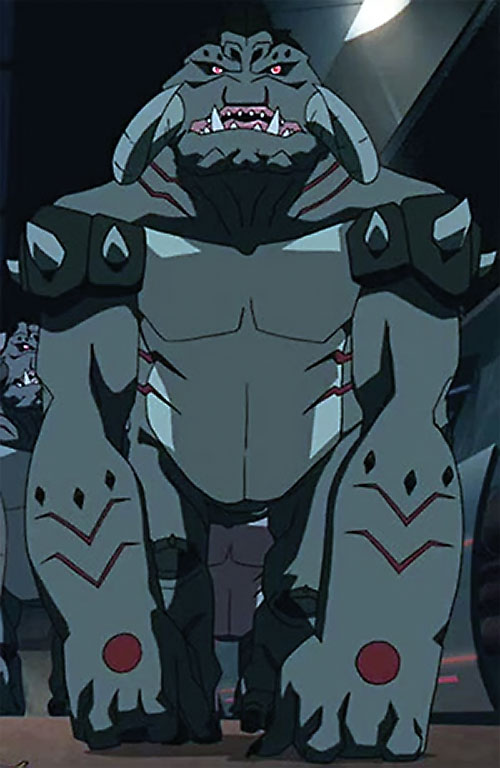 G-Troll genomorph (Young Justice animated series)