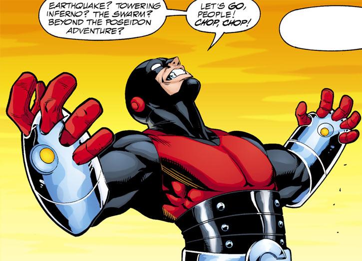 Geomancer (DC Comics) (JSA enemy) injustice triumphant