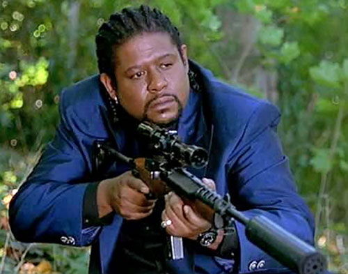 Ghost Dog (Forest Whitaker) sniping
