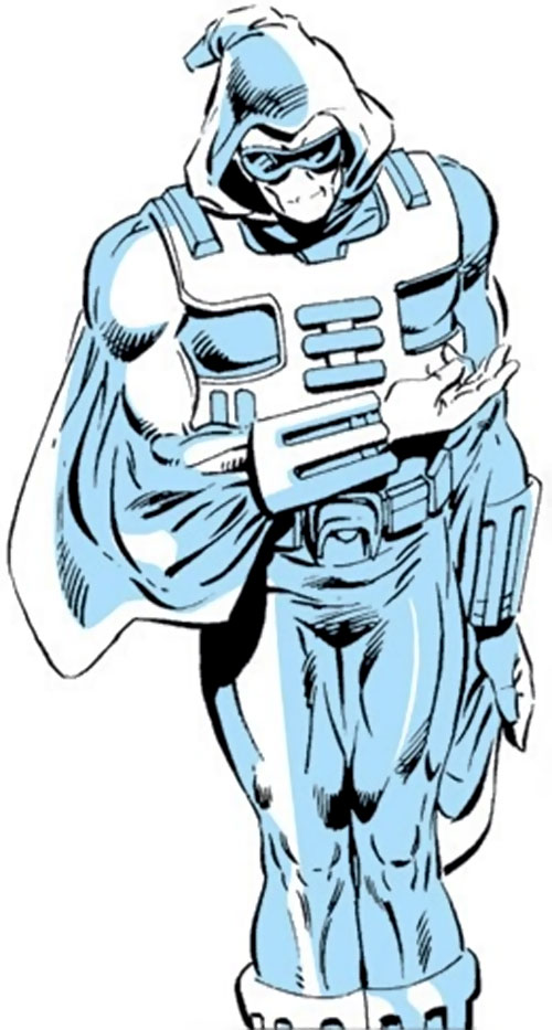 Ghost of the Thunderbolts (Iron Man enemy) (Marvel Comics) classic costume