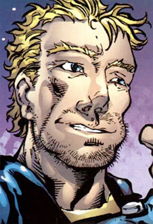 Ghost Rider 2007 (Marvel Comics) Johnny Blaze face closeup