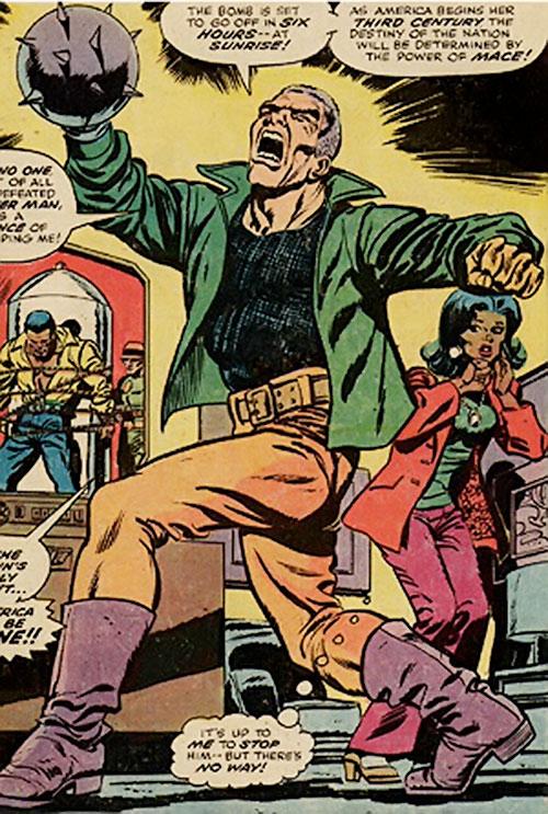 Gideon Mace (Luke Cage enemy) (Marvel Comics) crowning