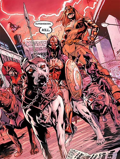 Giganta as Gigantrix of the Female Furies during Final Crisis (DC Comics)