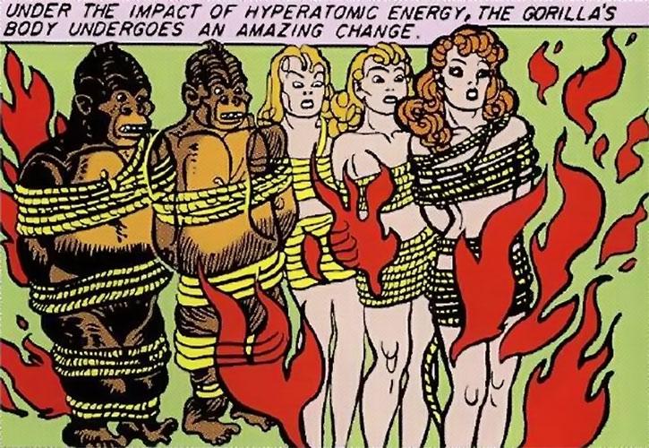 Giganta (Golden Age version) transformed to human form