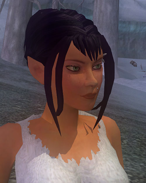 Gitane (Everquest 2 Swashbuckler) face closeup