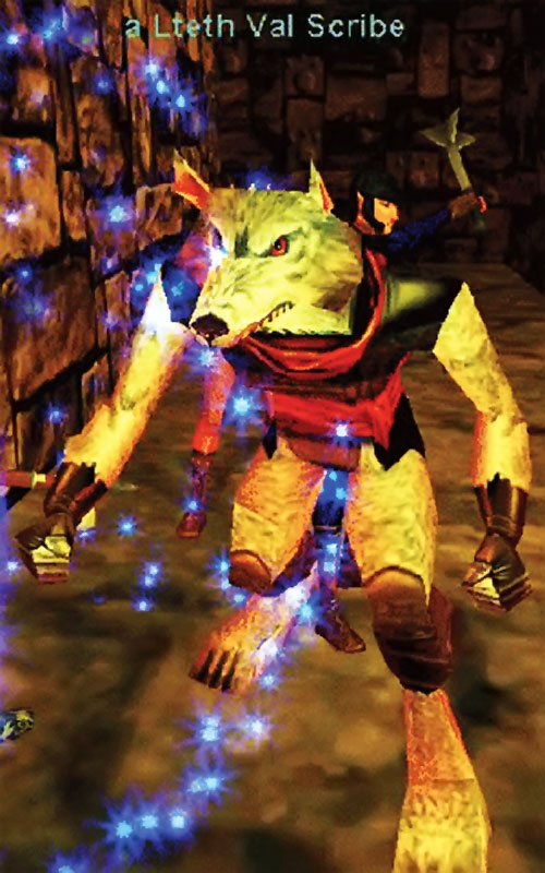 Gnoll in Everquest 1 - Lteth Val scribe