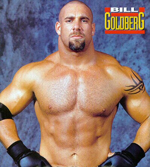 Goldberg posing