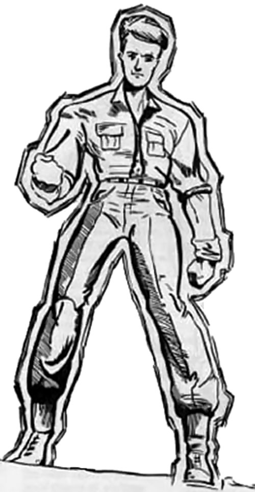 Golden Boy (Braun) (Wild Cards) from GURPS
