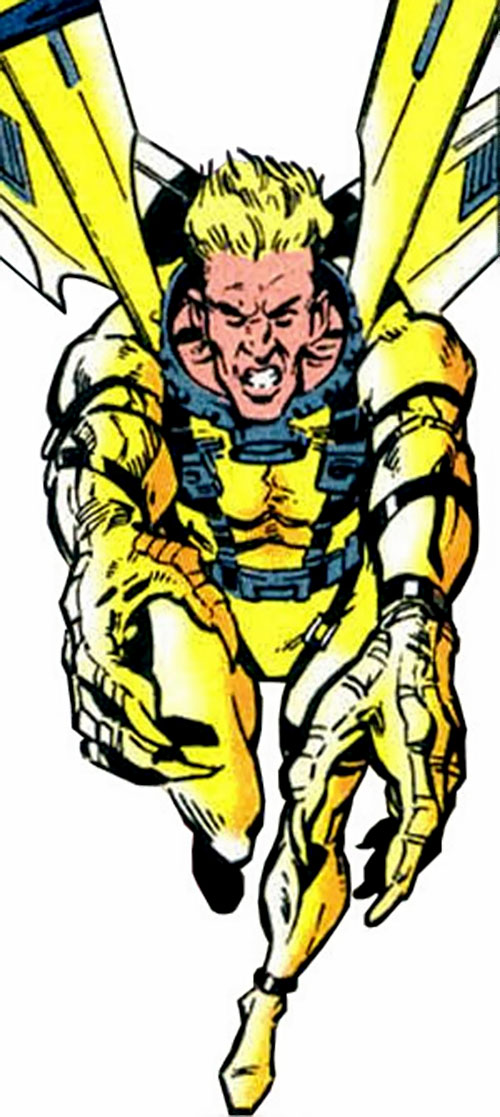 Golden Eagle of the Cadre / Aryan Brigade (JLA enemy) (DC Comics)