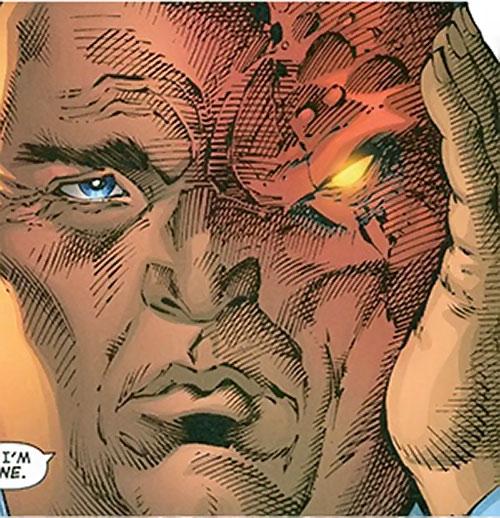 Gorgon of the Extremists (DC Comics) transforming