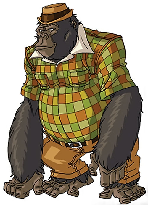 Gorilla-Man of the Agents of Atlas (Marvel Comics) by RonnieThunderbolts 3/3