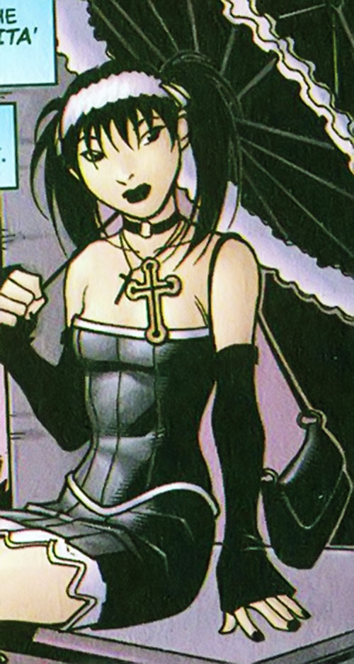 Gothic Lolita of the Livewires (Marvel Comics)