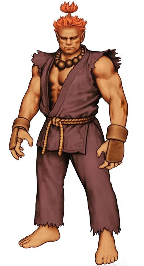 Akuma aka Gouki from Street Fighters